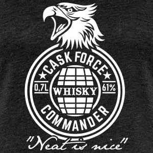 Cask Force Commander T-Shirts - Frauen Premium T-Shirt