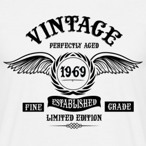 Vintage Perfectly Aged 1969 T-Shirts - Men's T-Shirt