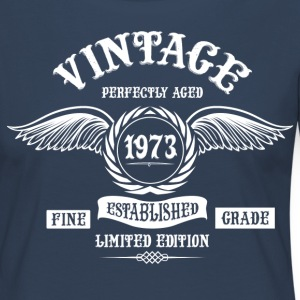 Vintage Perfectly Aged 1973 Long Sleeve Shirts - Women's Premium Longsleeve Shirt