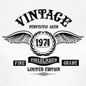 Vintage Perfectly Aged 1974 T-Shirts - Women's T-Shirt