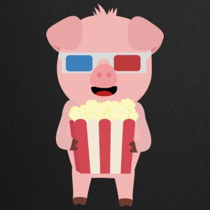 Cinema pig with popcorn Syllr design Mugs & Drinkware - Full Colour Mug