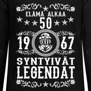 1967 - 50 vuotta - Legendat - 2017 - FI Long Sleeve Shirts - Teenagers' Premium Longsleeve Shirt