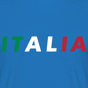 Italia Color Fan Camisetas - Camiseta hombre