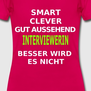 interviewerin T-Shirts - Frauen T-Shirt
