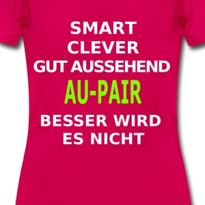 aupair T-Shirts - Frauen T-Shirt