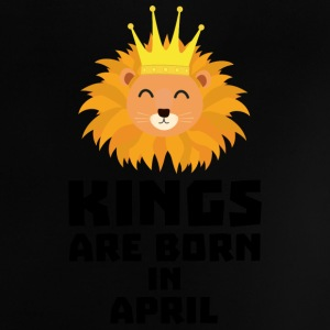 Kings are born in APRIL S723w Baby Shirts  - Baby T-Shirt