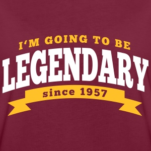 I'm going to be legendary since 1957 T-Shirts - Frauen Oversize T-Shirt