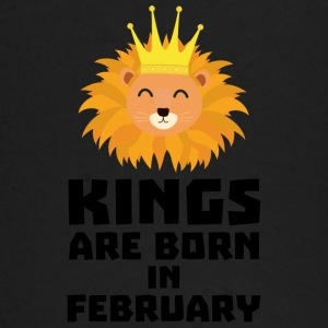 Kings are born in FEBRUARY S9z5c Baby Long Sleeve Shirts - Baby Long Sleeve T-Shirt