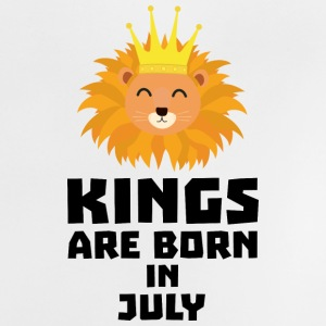 Kings are born in JULY S9188 Baby Shirts  - Baby T-Shirt