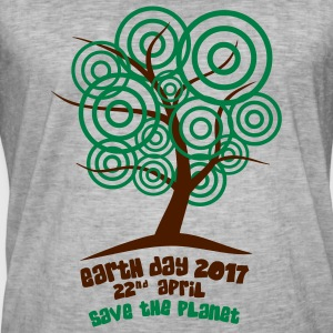 Earth day 2017 - Baum T-Shirts - Männer Vintage T-Shirt