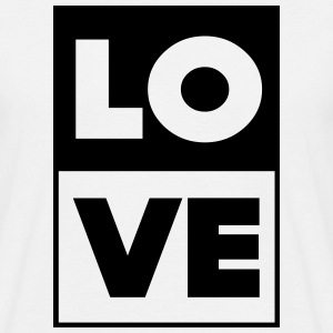 LOVE_DUO - Männer T-Shirt