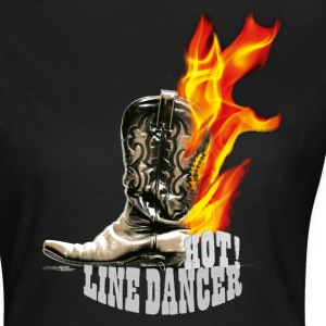 kl_linedance35a T-Shirts - Frauen T-Shirt