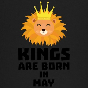 Kings are born in MAY Syy84 Baby Long Sleeve Shirts - Baby Long Sleeve T-Shirt