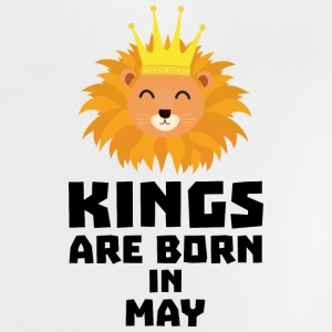 Kings are born in MAY Syy84 Baby Shirts  - Baby T-Shirt