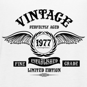 Vintage Perfectly Aged 1977 Tops - Women's Tank Top by Bella