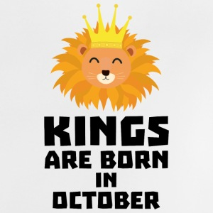 Kings are born in OCTOBER Szx1p Baby Shirts  - Baby T-Shirt