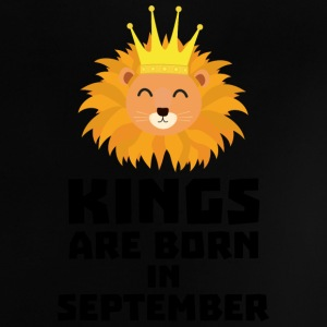 Kings are born in SEPTEMBER Sk209 Baby Shirts  - Baby T-Shirt