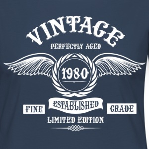 Vintage Perfectly Aged 1980 Long Sleeve Shirts - Women's Premium Longsleeve Shirt
