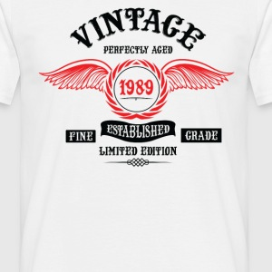 Vintage Perfectly Aged 1989 T-Shirts - Men's T-Shirt