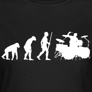 Drummer Evolution - Frauen T-Shirt