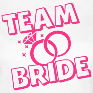 Team Bride Rings - Frauen T-Shirt