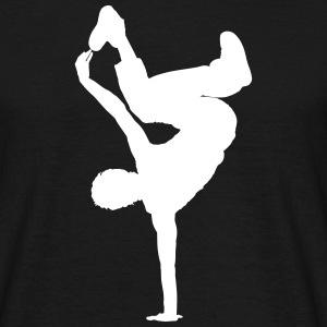 Breakdancer - Männer T-Shirt