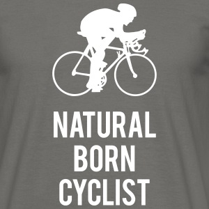 Natural born cyclist - Männer T-Shirt