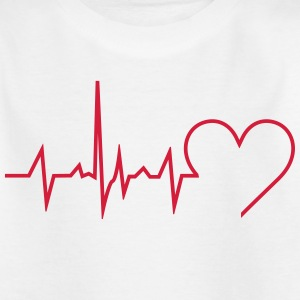 Heartbeat - Kinder T-Shirt