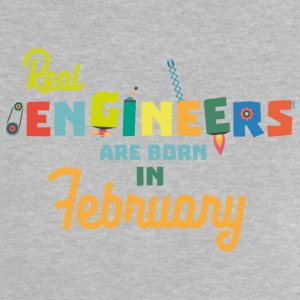 Engineers are born in February Sltl5 Baby Shirts  - Baby T-Shirt