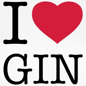 I LOVE GIN - Women's T-Shirt