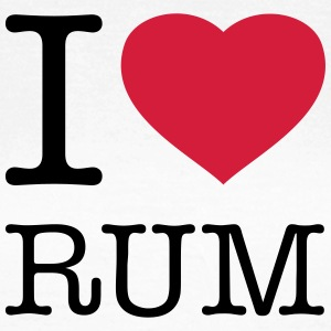 I LOVE RUM - Women's T-Shirt