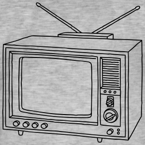 Television set TV  T-Shirts - Men's Vintage T-Shirt