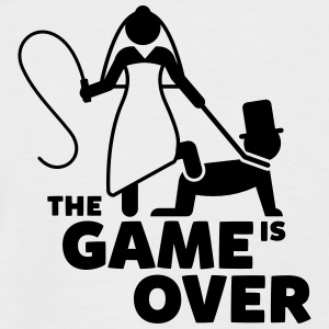 game is over Junggesellenabschied T-Shirts - Männer Baseball-T-Shirt