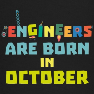 Engineers are born in October S3zoj Baby Long Sleeve Shirts - Baby Long Sleeve T-Shirt