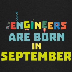 Engineers are born in September S0ow6 Baby Long Sleeve Shirts - Baby Long Sleeve T-Shirt