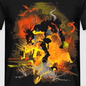 Biohazard Nuclear Monster - Men's T-Shirt