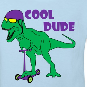 t-rex cool dude - Kids' Organic T-shirt