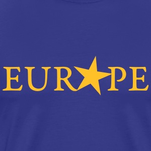 EU, YELLOW STAR, PULSE EUROPE,  European Union T-Shirts - Men's Premium T-Shirt