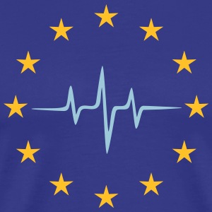 Pulse of Europe, EU Stars, European Union T-shirts - Premium-T-shirt herr