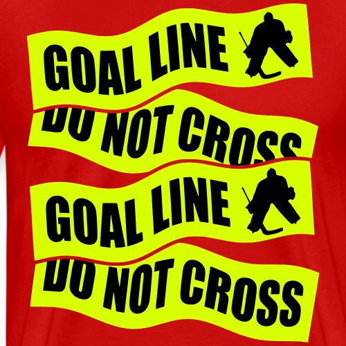 Hockey Goal Line Do Not Cross