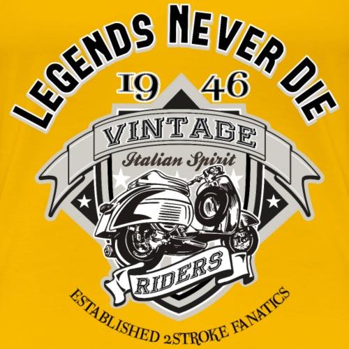 Vintage Riders Whiteshirt