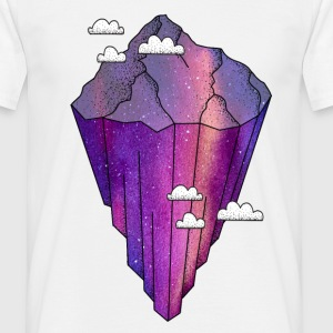 floating mountain - Men's T-Shirt