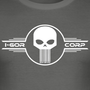 Skull I-gor Corp - Tee shirt près du corps Homme