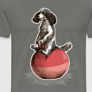 Cocker Spaniel Dark T-Shirts - Men's Premium T-Shirt