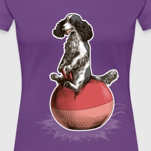 Cocker Spaniel Dark T-Shirts - Frauen Premium T-Shirt
