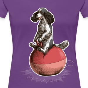 Cocker Spaniel Dark T-Shirts - Women's Premium T-Shirt