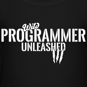 Wild programmer unleashed Shirts - Teenage Premium T-Shirt