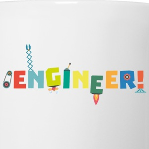Be an Engineer with Tools S8c69-Design Mugs & Drinkware - Mug