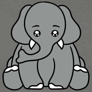 Annoyed, stressed, unhappy, tired, elephant, sitti T-Shirts - Men's T-Shirt
