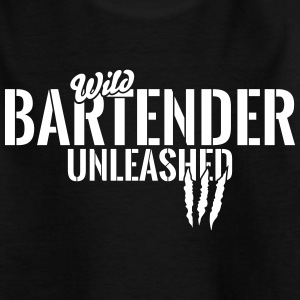 Wilder Barkeeper entfesselt Shirts - Teenager T-shirt